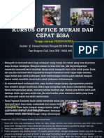 Microsoft Office Excel, Jl. Danau Sentani Tengah H2B 39, Sawojajar, Malang.  Fast Respon Call/ WA