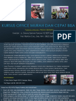 Microsoft Office Word 2007, Jl. Danau Sentani Tengah H2B 39, Sawojajar, Malang.  Fast Respon Call/ WA