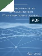 E-bok Fem Grunner Til at Skyadministrert - DUSTIN