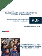 Ppt Jornada Mbe Educación Parvularia 2018