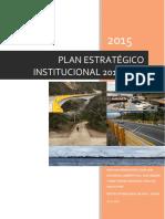 Plan Estrategico Institucional 2015 -2018 v 1