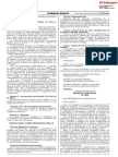Decreto Legislativo que fortalece el Tribunal de Transparencia y Acceso a la Información Pública