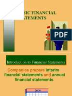Chapter 02 - (Basic Financial Statements)