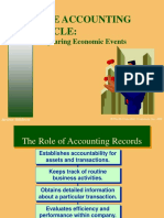 Chapter 03 - (the Accounting Cycle. Capturing Economic Events)