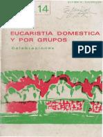 Eucaristia Domestica y Por Grupos - Galdeano