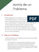 Anatomía de un Problema