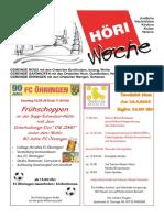 Höriwoche KW37