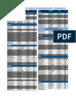 Winnipeg Jets 2018-19 Broadcast Schedule