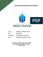 Tugas SIM_Shafira Ayudinda Syena_Yananto Mihadi Putra, SE., M.si._Pengantar Sistem Informasi Manajemen_2018