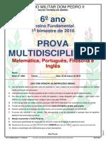ProvaMultI6ano1chamada2016