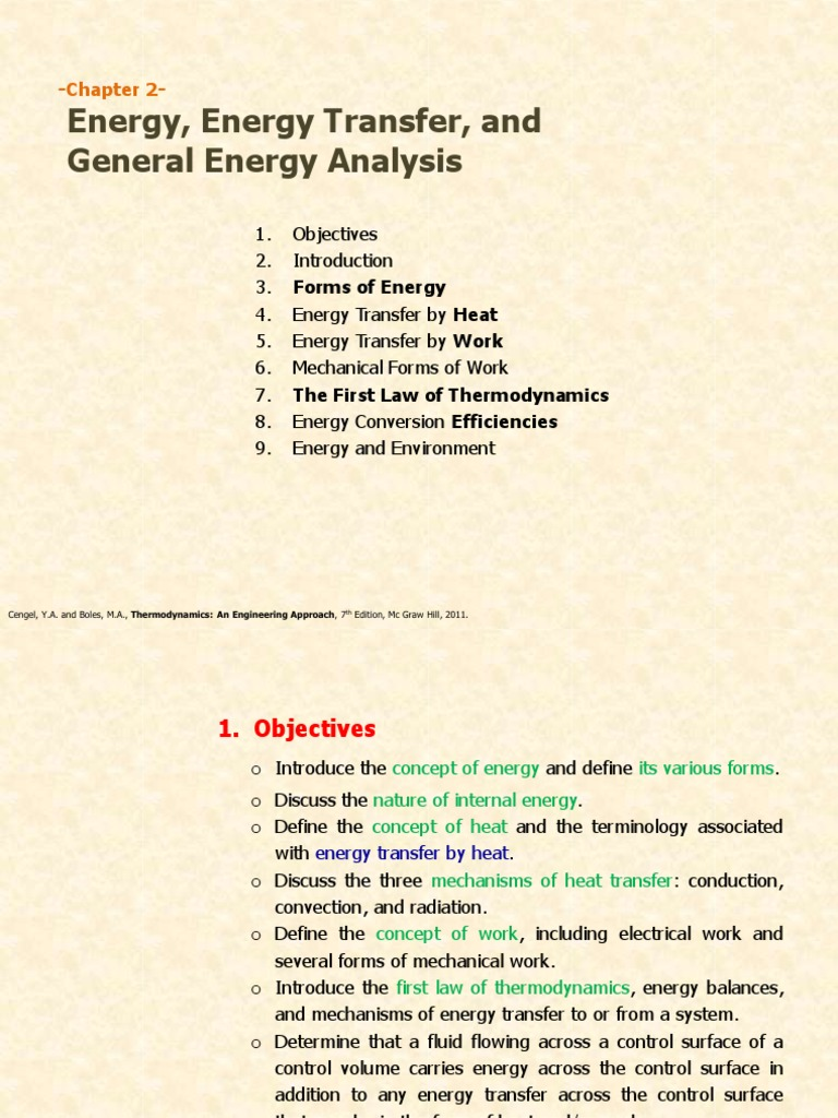17683_02 - Energy, Energy Transfer, And General Energy Analysis [30 August  2018] | Heat | Heat Transfer