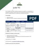 Mesa de Ayuda TIC Para CIST
