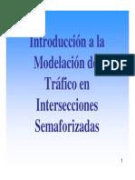 11. Modelacion Intersecciones Semaforizadas