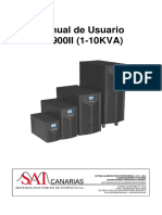 Manual Usuario Ups on Line Doble Conversion Ea900ii 1-10kva Monofasico 15