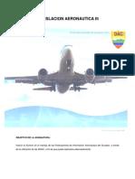 Legislación aeronáutica