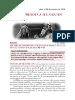 Lección 3 / 4° Trimestre 2010