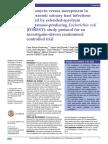 2015, Fosfomycin vs Meropenem E. Coli BLEE