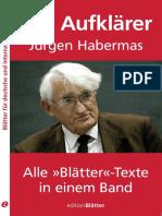Der Aufklaerer Juergen Habermas