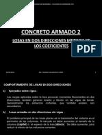 Concreto Armado 2 -Metodo de Los Coeficientes