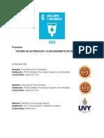 """""""Almacenamiento y Distribución de Redes Hidropluviales"""" COPIA"""