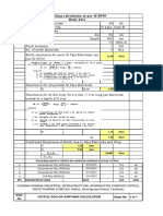 CETP Earthing Calculation