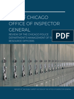 CPD Management of School Resource Officers Review