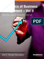 The Basics of Business Management Vol II