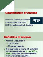 Slide Kuliah Klasifikasi Anemia