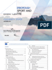 Peterborough Major Sport and Event Centre Feasibility Study