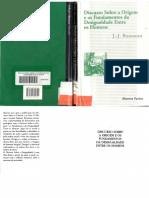 1 - Rosseau, J J - Discurso sobre a origem e os fundamentos da desigualdade entre os homens.pdf