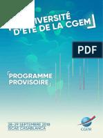 Ue Cgem - Programme Fr