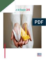 BDO Tunisie Presentation de La LF 2018