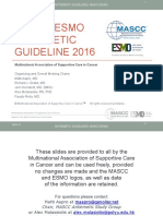 Mascc Antiemetic Guidelines English v.1.2.1