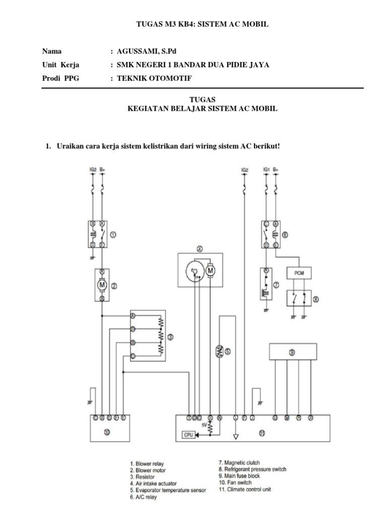 Tugas M3 Kb4 Sistem Ac Mobil
