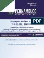 Compreensão e Interpretação de Texto Utilização de Estratégias Que Possibilitem Compreensão Geral Do Texto, Leitura Global e Detalhada, Identificação de Palavras-chave.