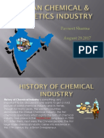 Indian Chemical & Cosmetics Industry