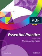 Essential Practice 4 Mosaic Spectrum