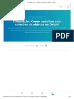 TObjectList_ Como Trabalhar Com Coleções de Objetos No Delphi