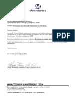 Carta de Prorrogação Dhpp 2018