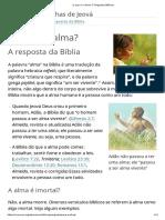 O Que é a Alma_ _ Perguntas Bíblicas