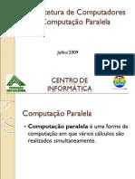 Arquitetura de Computadores - Computação Paralela