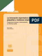La Innovación Exportadora en Las Pequeñas y Medianas Empresas- Programas de Apoyo y Financiamiento en América Latina