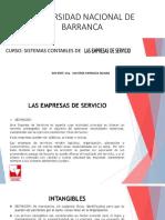 1.- Definicion de Las Empresas de Servicios