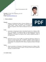 Curriculum Vitae Mauro Brissio