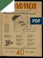 Ano 7, vol. 2, nº 40 (Dez. 1933)