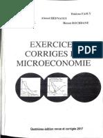 Livre Micro Economie Exercices Corrigés Azizi Partie 1