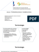 Terminologia e simbologia da instrumentação