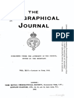 The Geographical Journal Roosevelt 1915 Central Brazil