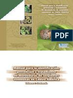 Manual para la identificación, prevención y tratamiento de mordeduras de serpientes venenosas en Centro América. Volumen 1