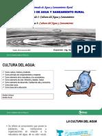 Cultura del Agua y Saneamiento